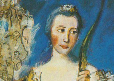 LA CHASSE AUX SORCIERES D'APRES «MADAME DE MAISON-ROUGE SOUS LES TRAITS DE DIANE» DE NATTIER 1756