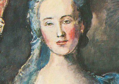 LA FACE CACHEE DU FASTE D'APRES «MANON BALLETTI» DE NATTIER 1757
