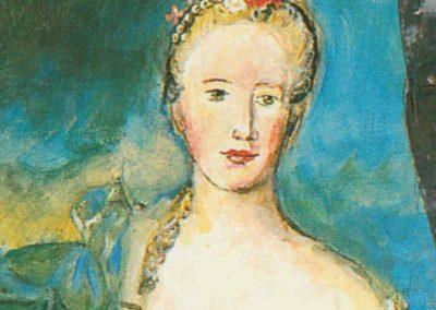LE COMMUNISME PRIMAIRE D'APRES «MADAME DE CAUMARTIN EN HEBE» DE NATTIER 1753