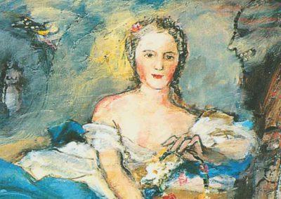 MADAME HENRIETTE SOUS LA FIGURE DE FLORE ET SES DESCENDANTS D'APRES «MADAME HENRIETTE SOUS LA FIGURE DE FLORE» DE NATTIER 1742